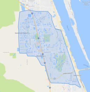 Suntree-Viera Map